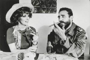 FIdel Castro y Gina Lollobrigida