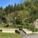 Fosslia fjellhall uteområde