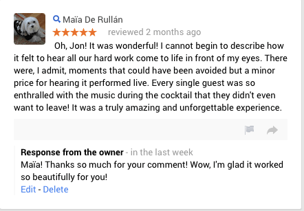 Google+ Review of Arrangerforhire.com