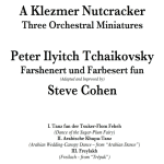 "Klezmer Version of ""Nutcracker"" Available"
