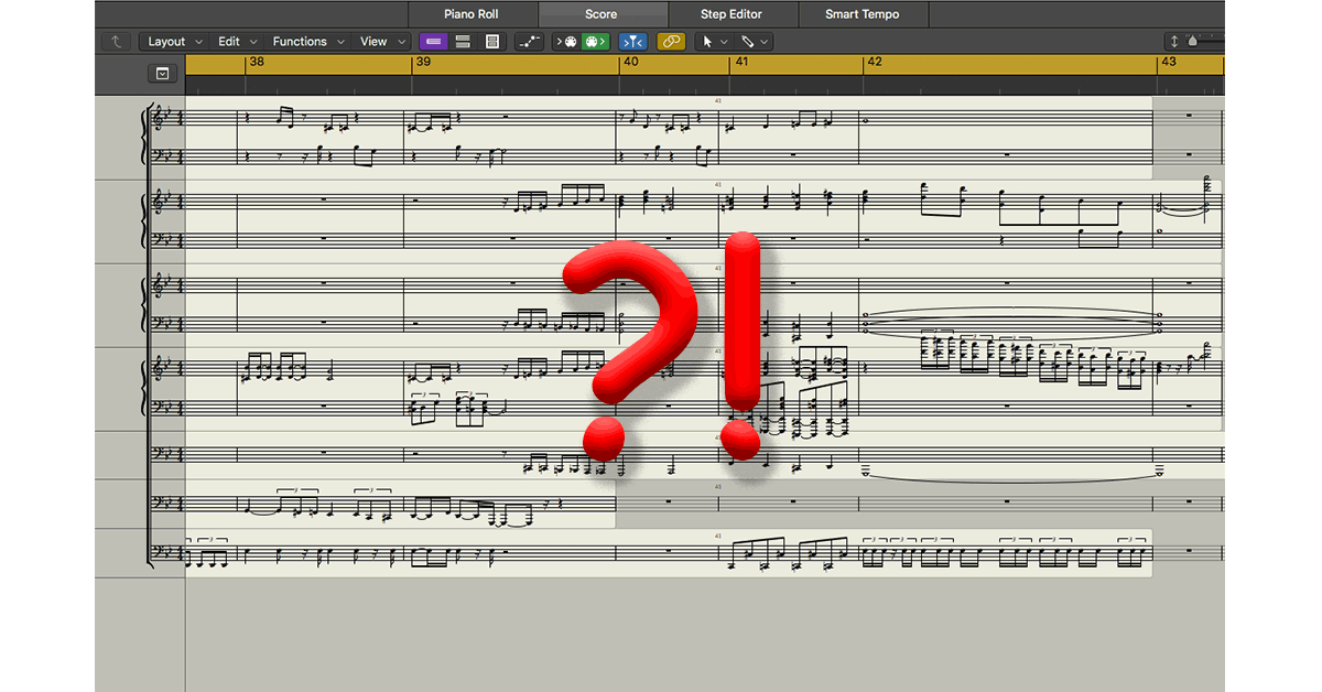 Logic-to-Finale Transcription and Arranging Services