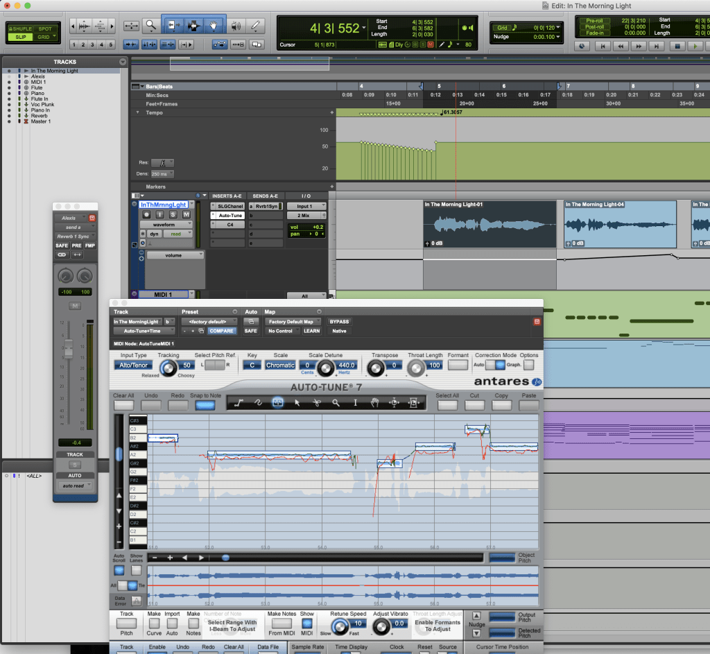 Pro Tools Session graphic