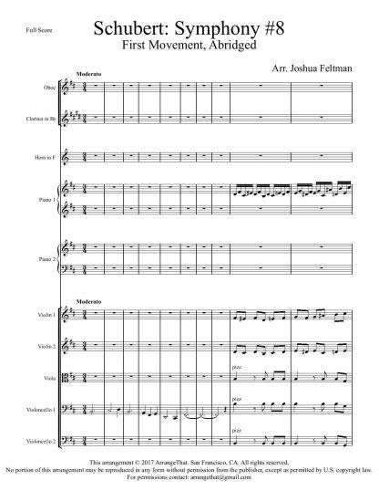 Schubert Unfinished Symphony
