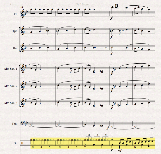 Firebird drum part