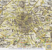 Cartography & Iconography City Of Lights