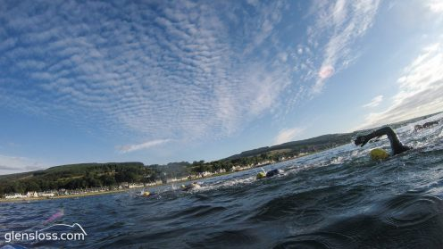 arranman swim sky clouds