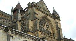 Detalle de la Catedral de Bayonne