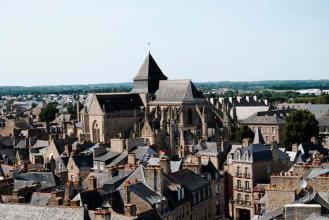 Iglesia de Saint-Malo en Dinan