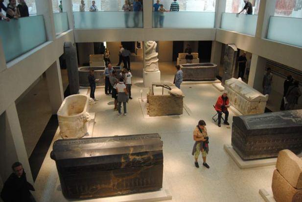 Una de las salas del Neues-Museum