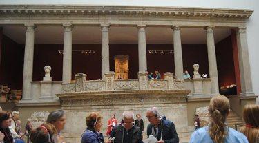 Una de las salas del Museo de Pérgamo