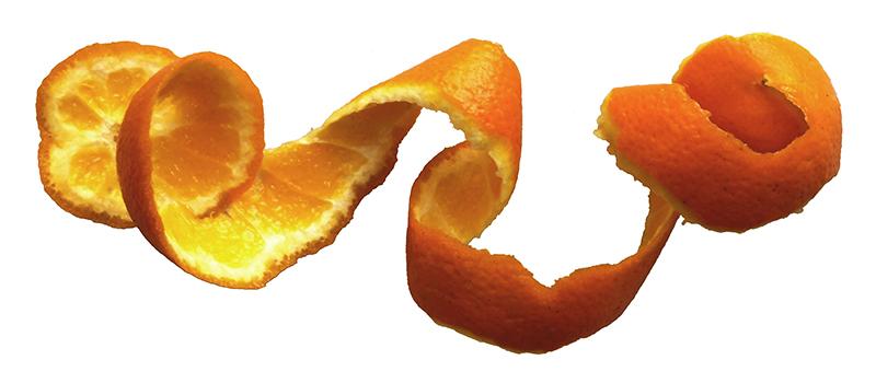 Monda de naranja