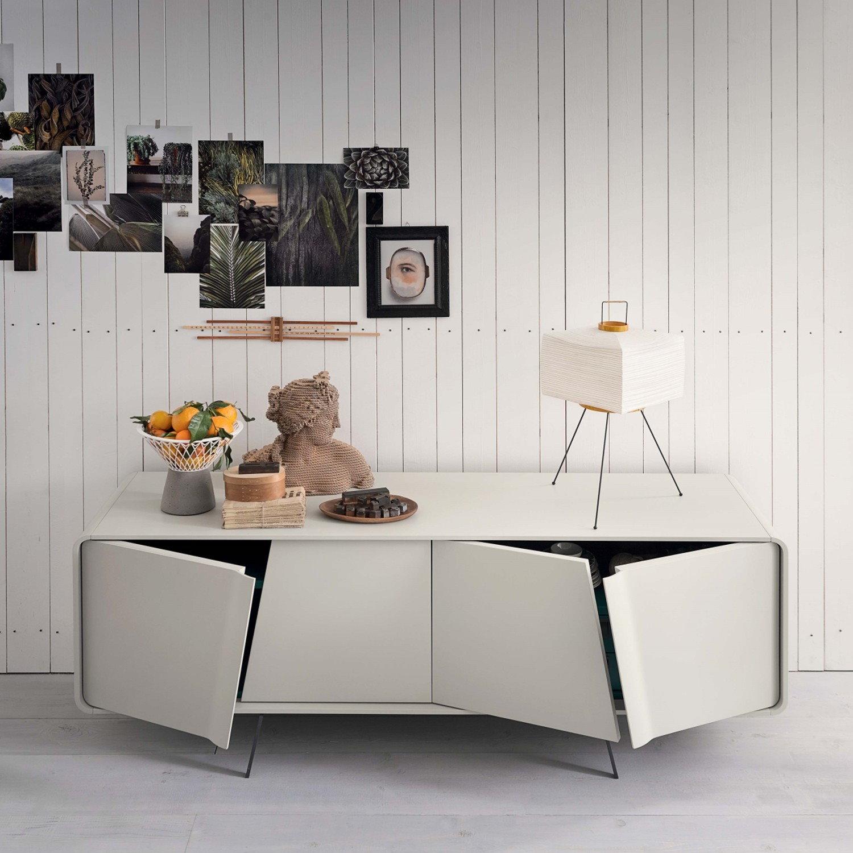 Credenza Moderna Di Design : Credenza moderna bianca mobili per tv moderni