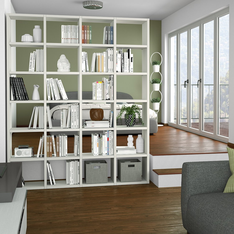 Ikea soggiorno libreria meilleur de libreria a parete sospesa