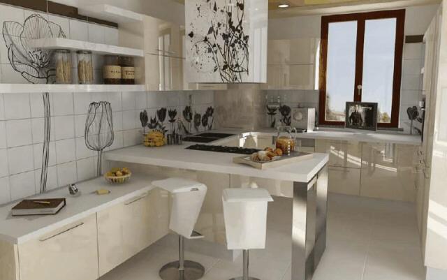 In questo caso, i mobili da cucina si trovano su entrambe le pareti. Cucine Su Misura Forli