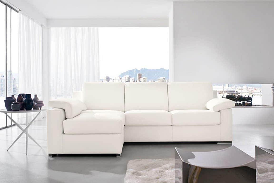 Divani Bianchi Angolari : Divani angolari tessuto divano con pouff doimo salotti in