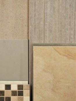 Finto legno, finta pietra e mosaico