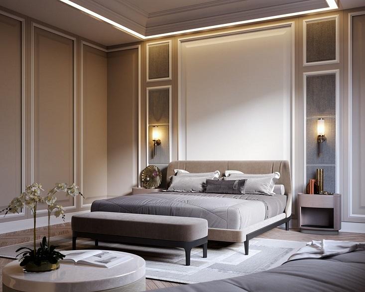 La bellezza di una stanza da letto con arredi dall'atmosfera classica ma con. Guida Alle Camere Da Letto Classiche