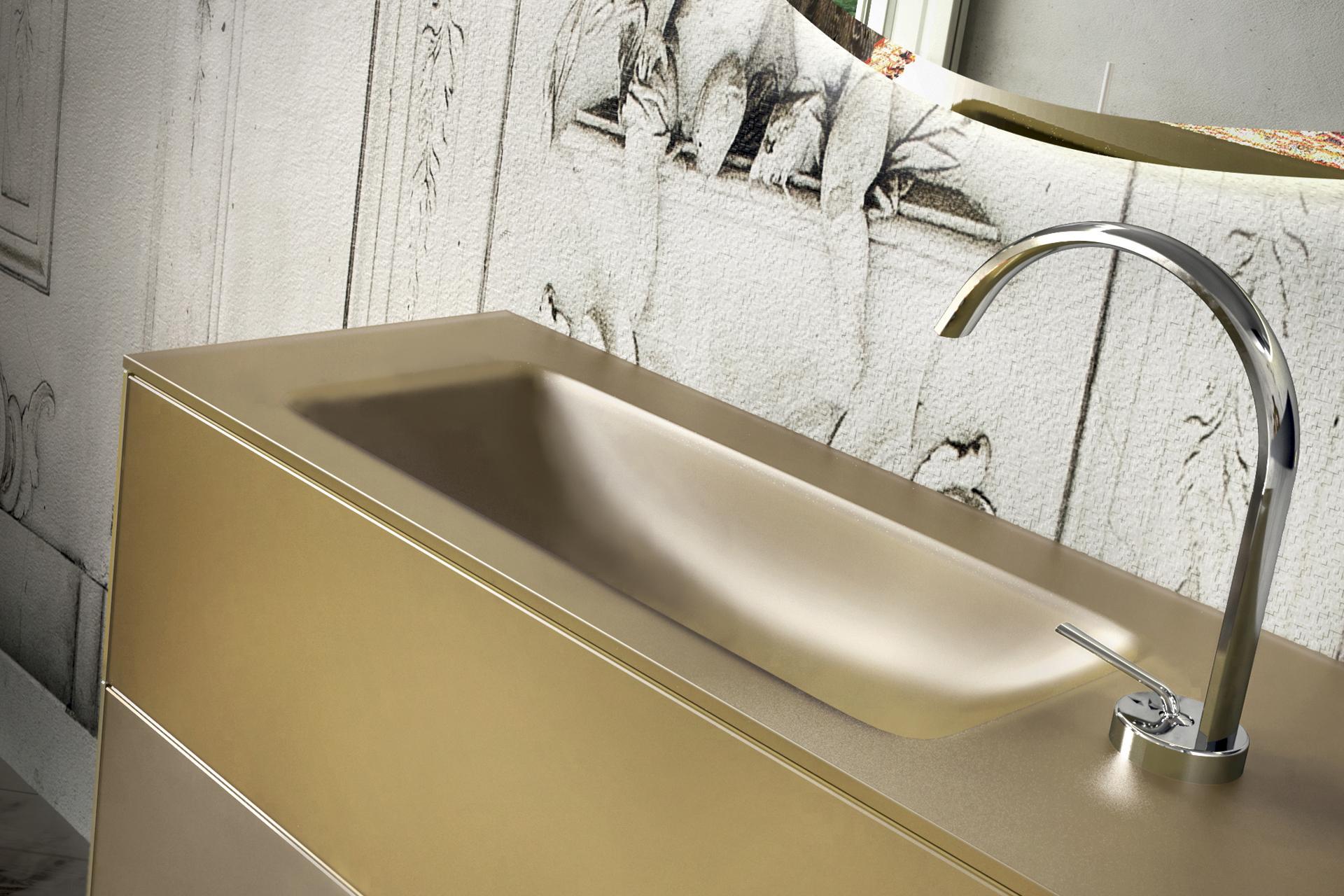Lavandini bagno moderni mobile bagno design compatto lavabo