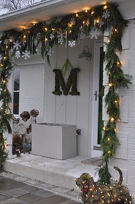 addobbi natalizi per balconi decorazioni : Addobbi di Natale shabby fa-da-te: ecco come realizzarli