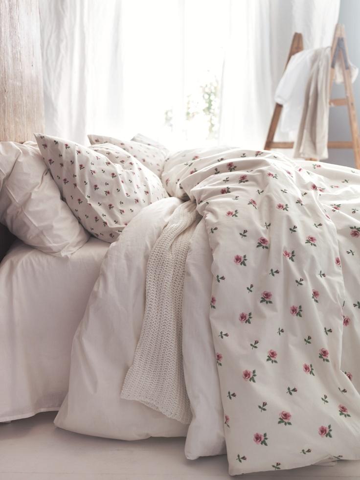 Piumoni matrimoniali per un letto shabby chic 25 modelli - Piumone matrimoniale ikea ...