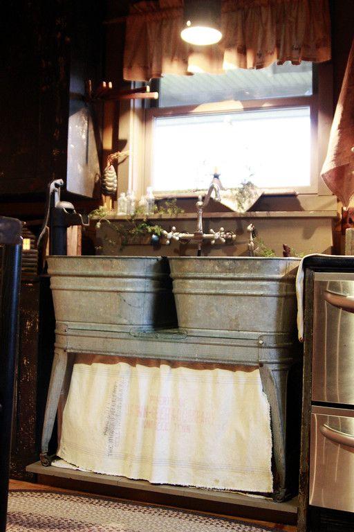 Cucine rustiche in stile shabby chic  30 modelli da sogno