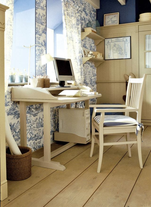scrivania shabby chic per bambine  Arredamento Shabby