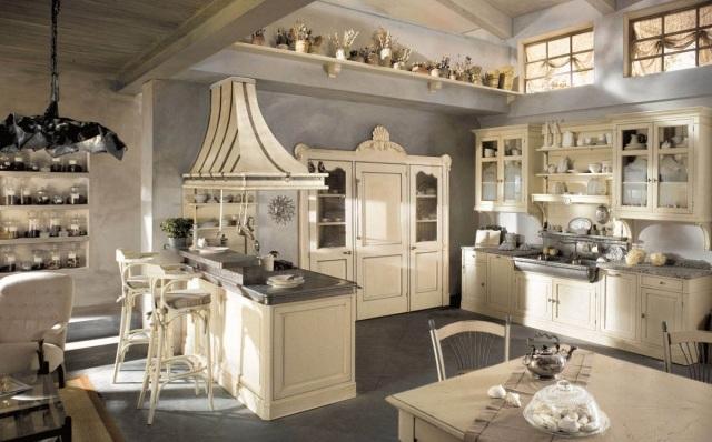 Cucine Country » Cucine Country In Muratura Bianche - Ispirazioni ...