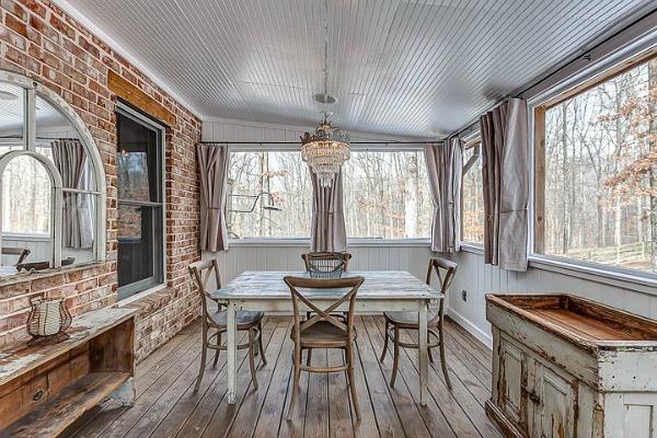 Cottage Leipers Fork veranda  Arredamento Shabby
