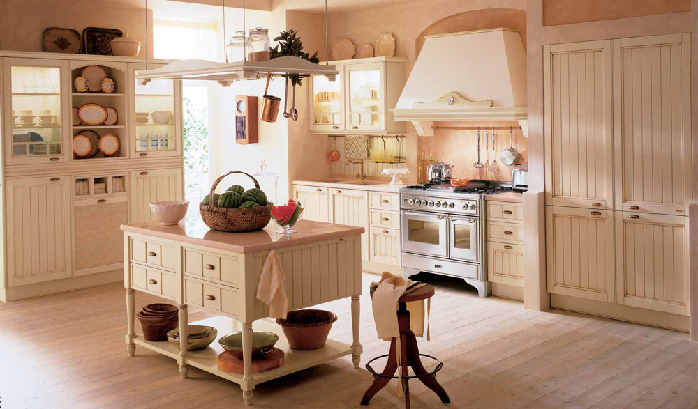 Tende per cucine in muratura elproyectodepaulyd. Le Cucine In Stile Provenzale E Industrial Chic Febal 2015