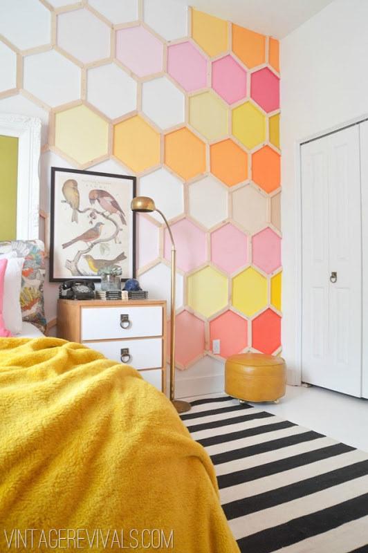Come decorare le pareti di casa in stile shabby chic idee