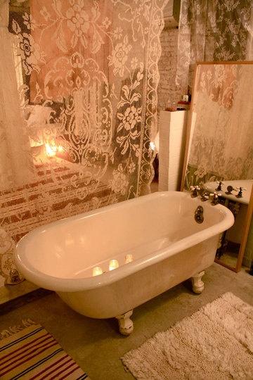 foto e idee vasca da bagno shabby chic