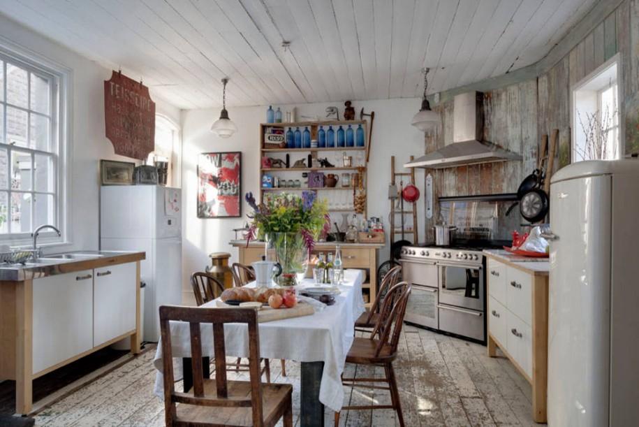 Cucine shabby chic come sfruttare lo spazio con i mobili