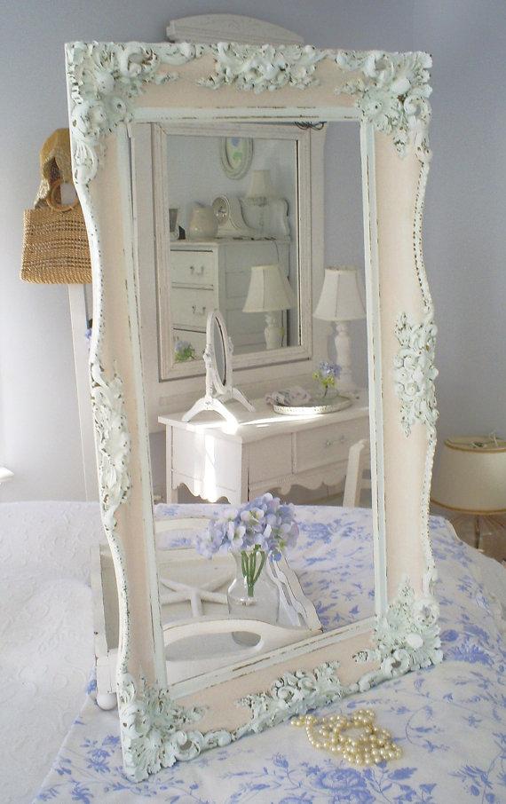 Specchi in stile shabby chic foto for Cornici per quadri shabby chic