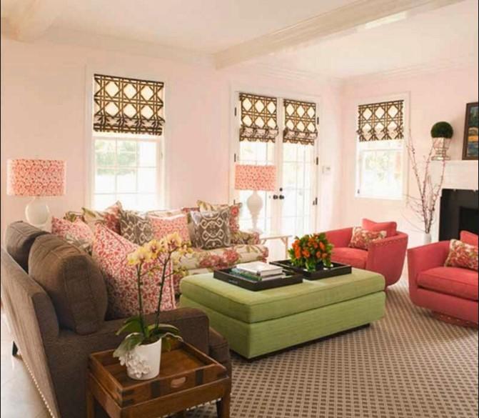 Divano Rosso Parete Grigia: Abbinare i colori delle pareti le idee e ...