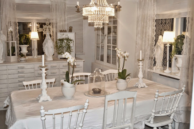 Shabby home quando il tuo spazio diventa glamour - Sale da pranzo shabby ...