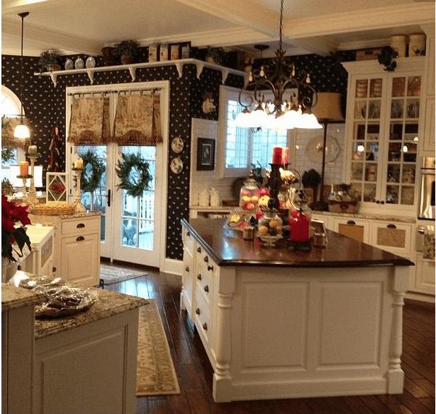 Abbinamento colori ecco quelli adatti alla tua cucina shabby - Colori muro cucina ...