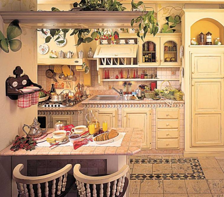 Cucine rustiche su misura delazienda Fonte del Rsutico