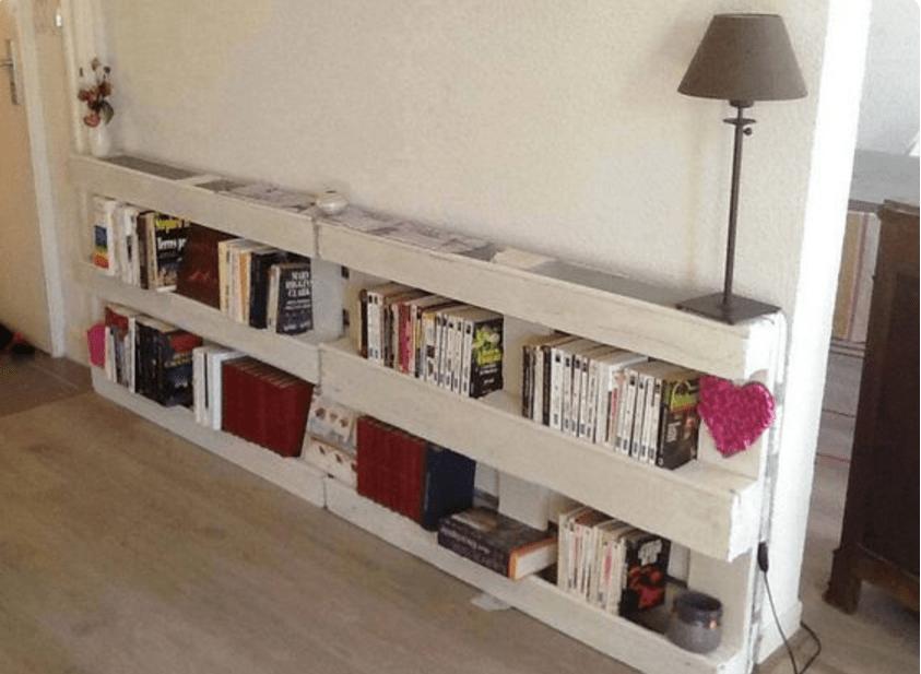 Mobili bancali: libreria