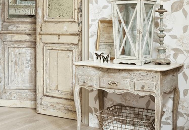 Mobili bianchi e di legno ma in stile shabby foto - Immagini di mobili ...