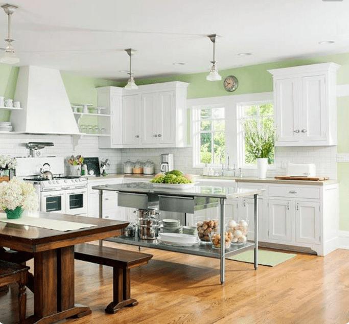 Pareti Cucina Verde ~ Ispirazione Per La Casa