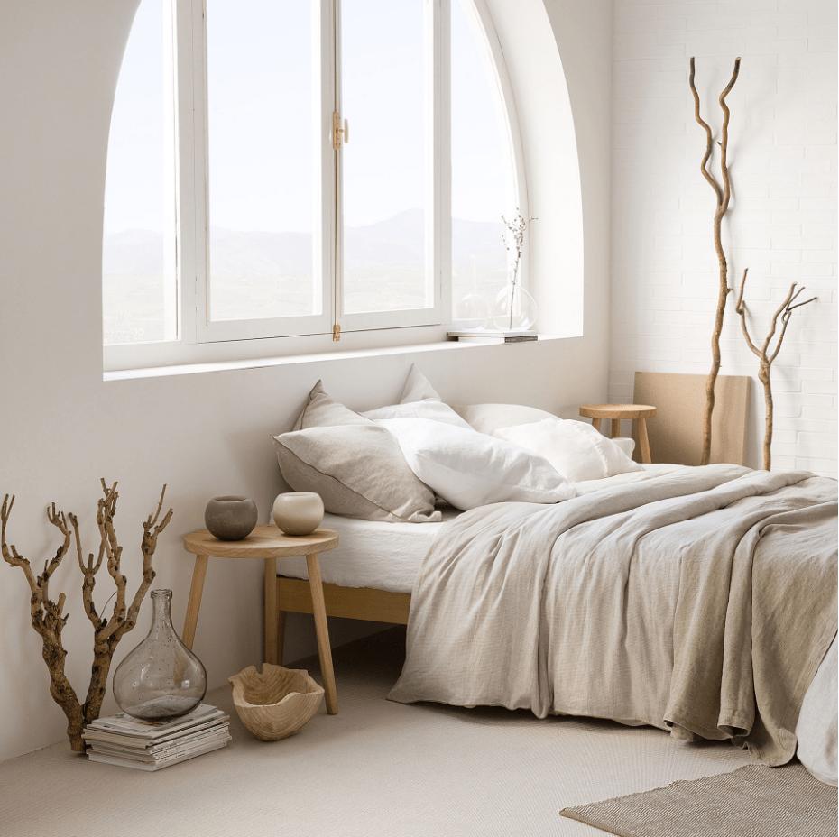Zara Home collezione autunno inverno 2016 biancheria da