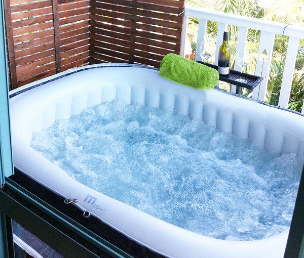 Unidea rilassante per lestate piscina idromassaggio gonfiabile da esterno  Arredare Bagno