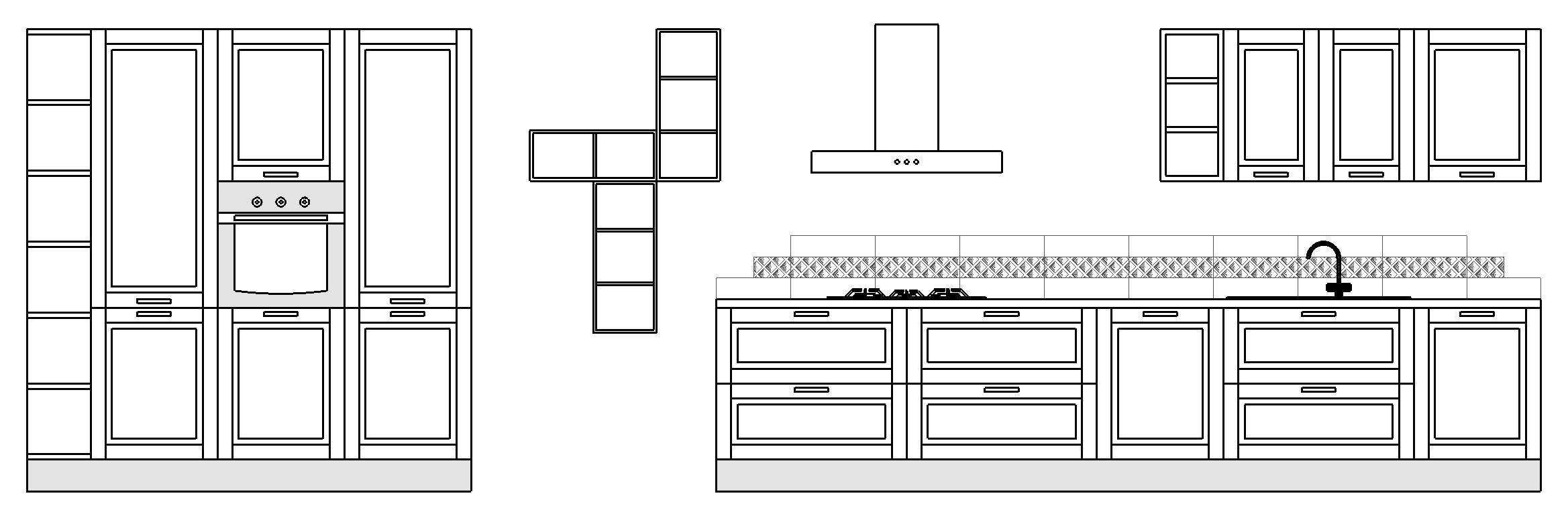 Dimensioni Mobili Cucina Componibile Cucine Componibili