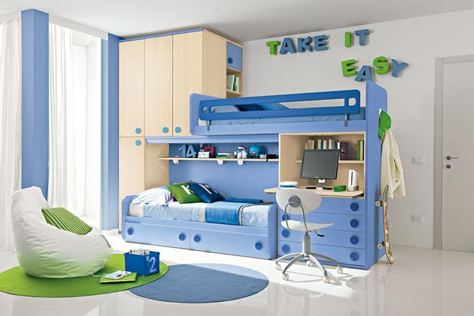 Le camerette doppie colorate di ArredissimA  ArredissimA Young il mondo dei bambini