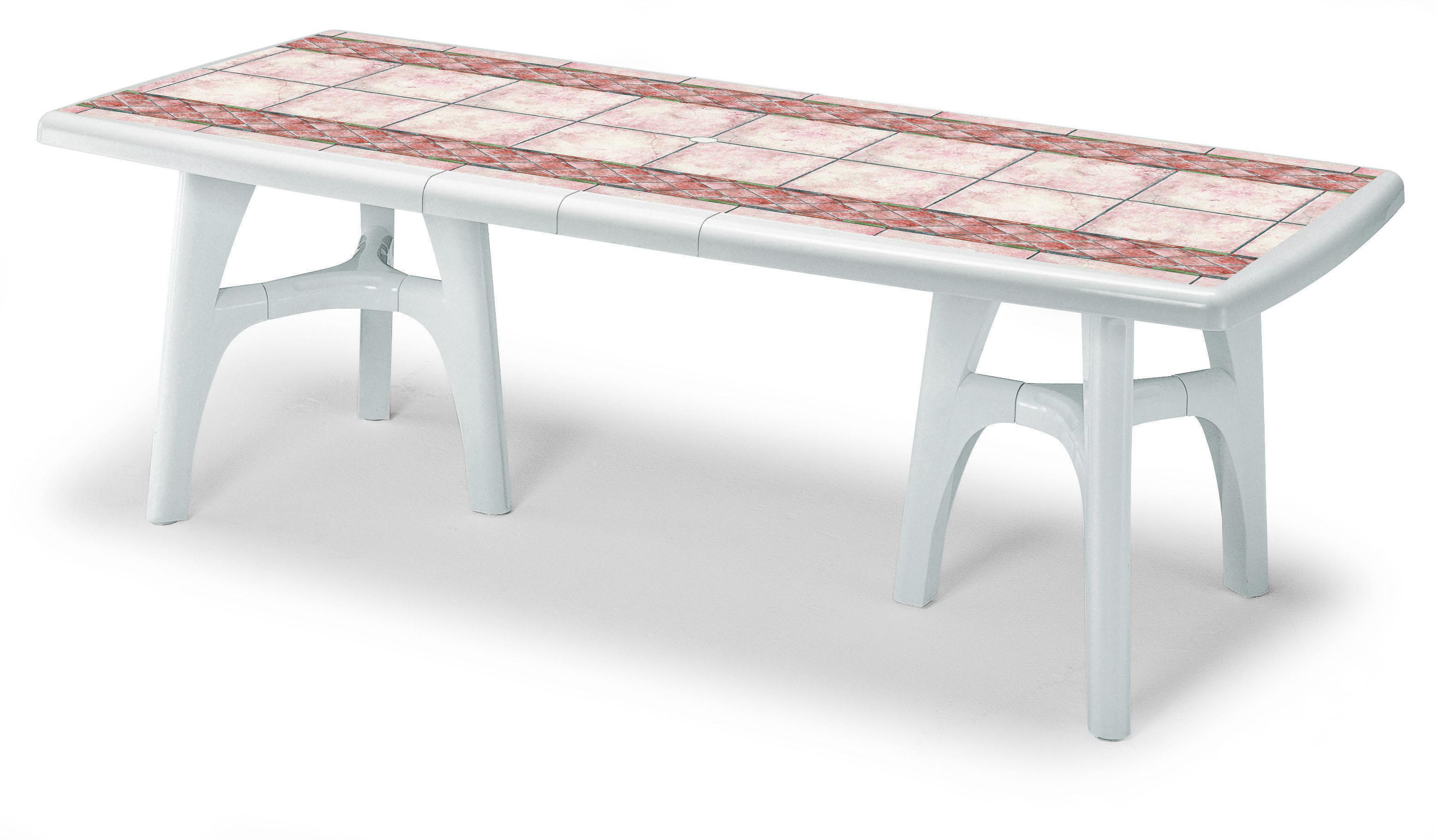 Tavoli Da Giardino Resina Allungabili.Tavolo Da Giardino Resina Tavolo Tavolino In Resina Bianco Cm