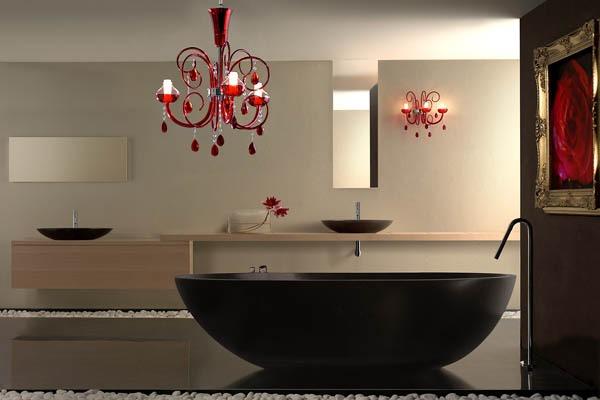 Plafoniere Bagno Classiche : Illuminazione bagno plafoniere faretti lampadari u design per la casa