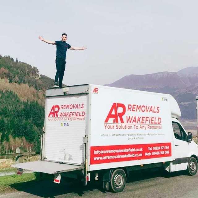man in a van Wakefield, AR Removals Wakefield