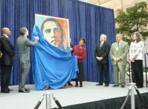 "Openings: Shepard Fairey's Obama ""Hope"" @ Smithsonian ..."