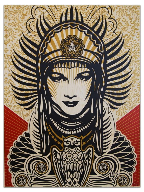 Shepard Fairey Peace Goddess