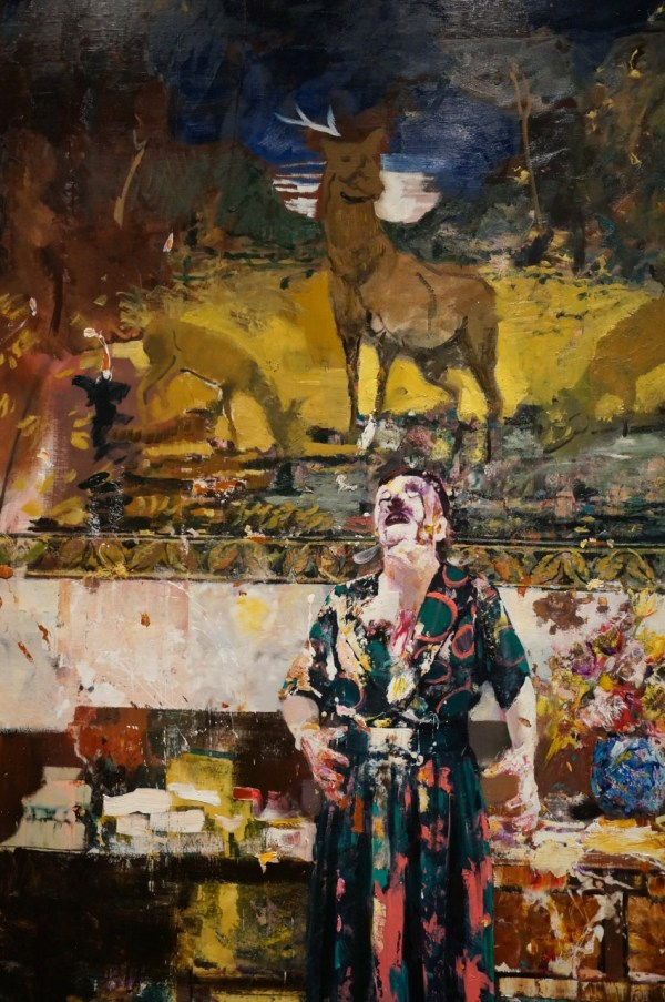 Adrian Ghenie Paintings Pace Arrested Motion